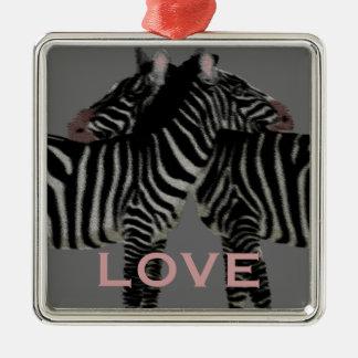 LOVE/Zebrasの愛情 メタルオーナメント