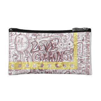 LOVECOMMONS ポーチ コスメティックバッグ