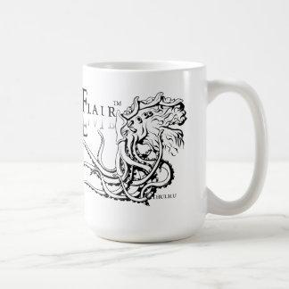 Lovecraftianのしゃれているなマグ: Cthulhuの黒いインク コーヒーマグカップ