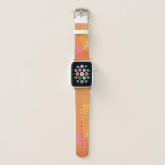 LoveGeoの抽象的な幾何学的設計-カイエンヌの吠え声 Apple Watchバンド
