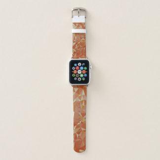 LoveGeoの抽象的な幾何学的設計-ペカンの丘 Apple Watchバンド