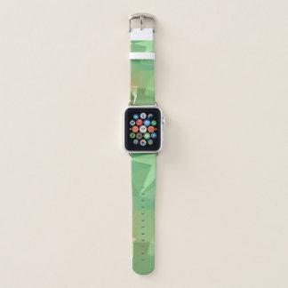 LoveGeoの抽象的な幾何学的設計-海のマツ Apple Watchバンド