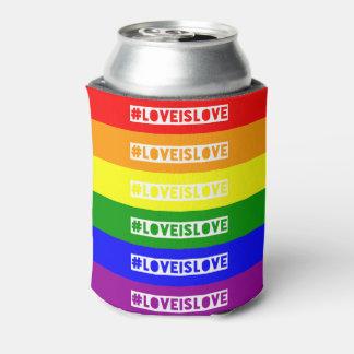 #LoveIsLoveのhashtagはクーラーできます 缶クーラー