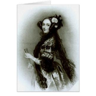 LovelaceのオーガスタAda Byronの伯爵婦人 カード