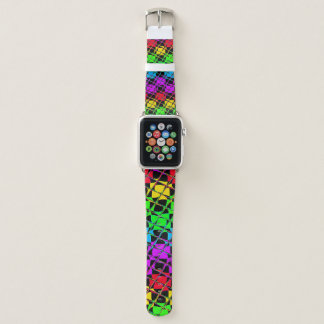 Lovely Bright Water Colors Mirror Image Apple Watchバンド