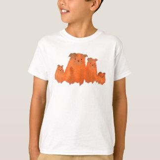Lovely Dog's Family Tシャツ
