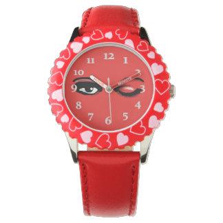 LOVELY WINK WATCH by Slipperywindow 腕時計