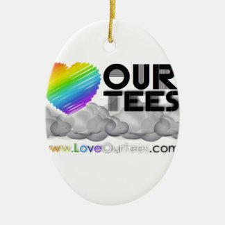 LoveOurTees.com セラミックオーナメント