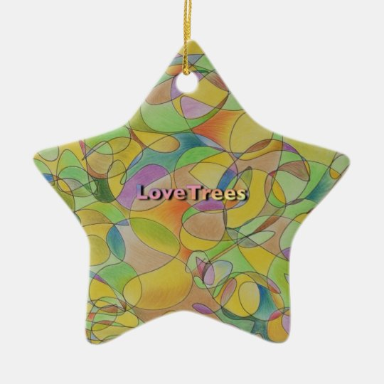 LoveTrees Star セラミックオーナメント