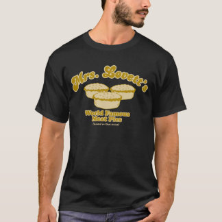 Lovettの世界的に有名なミートパイの黒いTシャツ Tシャツ