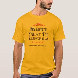 Lovett's夫人のミートパイの中心地 Tシャツ