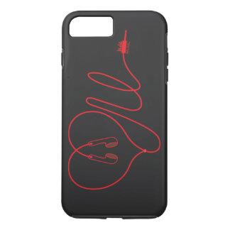LoveUMusicの裏表紙 iPhone 8 Plus/7 Plusケース