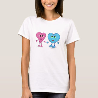 LovinのハートのTシャツ Tシャツ
