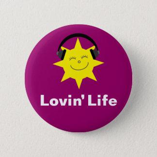 Lovinの生命太陽及びヘッドホーンは記章を付けましたり/ボタン 缶バッジ