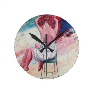 lovleyの時計 ラウンド壁時計