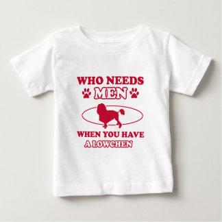 Lowchenのお母さんのデザイン ベビーTシャツ