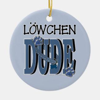 Lowchenの男 セラミックオーナメント