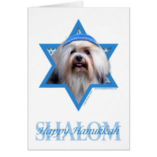 - Lowchenハヌカーのダビデの星 カード