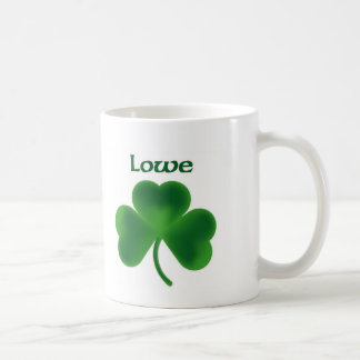 Loweのシャムロック コーヒーマグカップ