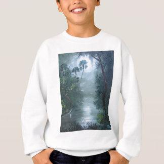 Loxahatcheeの霧深い川 スウェットシャツ