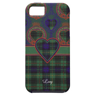 Loyの一族の格子縞のスコットランドのキルトのタータンチェック iPhone SE/5/5s ケース