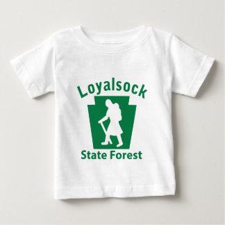 Loyalsock SFのハイキング(女性) ベビーTシャツ