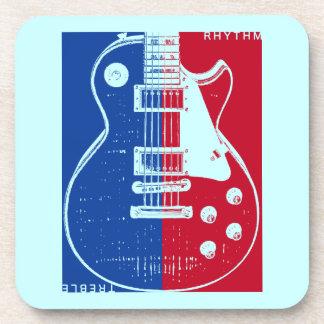 LPのギターのコルクのコースター ビバレッジコースター