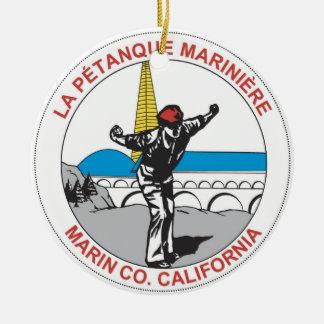 LPMのロゴのオーナメント セラミックオーナメント
