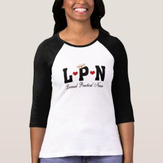 LPNの認可された実用的なナース Tシャツ