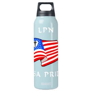 LPN米国のプライド 断熱ウォーターボトル