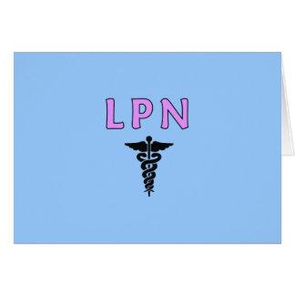 LPN Medicalt カード