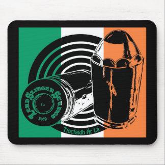 LSSのロゴのアイルランドの旗のマウスパッド マウスパッド