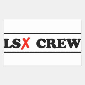 LSXのデカール 長方形シール