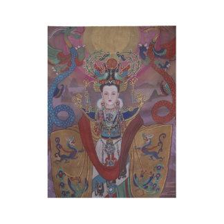Lu Zhi -中国のな皇后木ポスター ウッドポスター