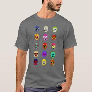 Lucha LibreのマスクのメキシコレスリングのTシャツ Tシャツ