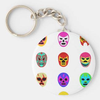 Lucha Libreのマスクのメキシコレスリング キーホルダー