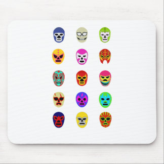 Lucha Libreのマスクのメキシコレスリング マウスパッド