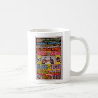 Lucha Libreのマッチポスター コーヒーマグカップ