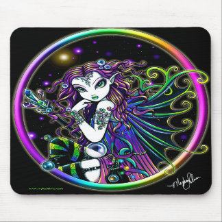 Lucidaの水晶虹の妖精のマウスパッド マウスパッド