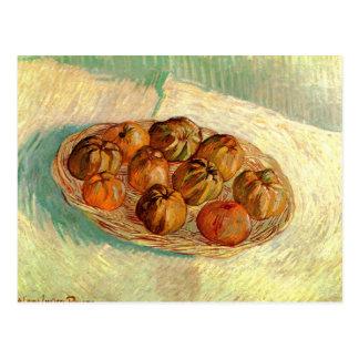 Lucien Pissarro -ゴッホへのりんごのバスケット 葉書き