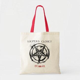 Luciferの戸棚米国東部標準時刻。 666 A.D. Bag トートバッグ