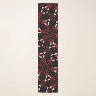 Luciferの星のサテン スカーフ