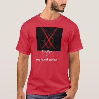 Luciferは私の精神ガイドです Tシャツ
