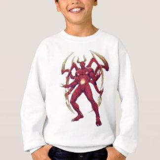Lucifer悪魔、暗闇、Satanの王子 スウェットシャツ