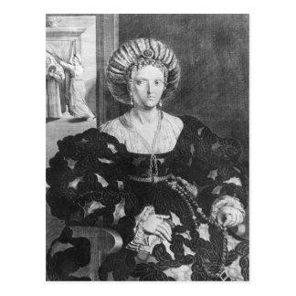 Lucrezia Borgiaのポートレート ポストカード