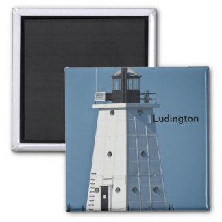 Ludingtonの防波堤ライト マグネット