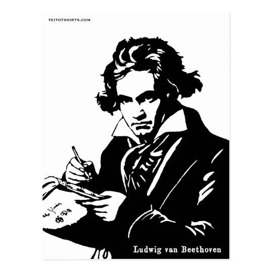 Ludwig van Beethoven ポストカード