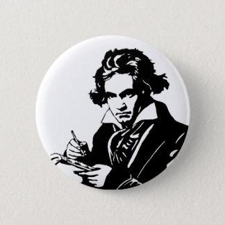 Ludwig van Beethoven 5.7cm 丸型バッジ