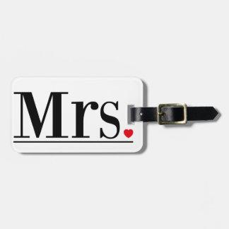 Luggage Tag夫人 ラゲッジタグ