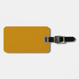 Luggage Tag with Leather Strap ラゲッジタグ